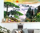 3D Mountain Crane B815 Business Wallpaper Wall Mural Self-adhesive Commerce Amy