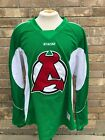 CCM Edge Pro Stock Albany Devils Practice Jersey Kelly Green 6107