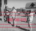 "1956 ELVIS PRESLEY in the MOVIES ""LOVE ME TENDER"" PUBLICITY PHOTO On the Set 05"