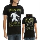 Elvis Presley T-Shirt Live In Las Vegas Rock N Roll Official XL Last NWT