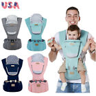 Infant Baby Carrier Sling Rider Backpack Breathable Ergonomic Adjustable Wrap