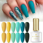 BORN PRETTY 6ml Soak Off UV Gel Nail Polish Lake Blue Series Nail Art Varnish