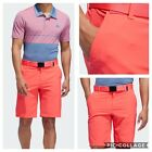 New Adidas Ultimate 365 Mens Golf Shorts- Shock Red - Multiple Sizes