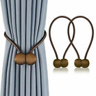 2pc/8pc Curtain Tie Backs Magnetic Ball Buckle Holder Tieback Clips Home Window