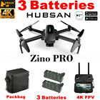 Hubsan Zino PRO APP FPV Quadcopter 5G 4K Drone Brushless+ 3Gimbal+2Battery+Bag