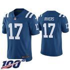 17 philip Rivers Indianapolis Colts 100th patch stitched Men's 2020 Game jersey $34.99 USD on eBay