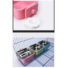 Plastic Casing Pet Bowl Feeder Bowls Cage Removable Water Durable Dog Feeding
