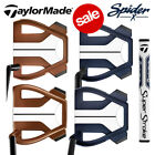 TaylorMade Spider X Putters Navy White & Copper/White - NEW! 2020 (Inc H/Cover)