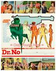 "DR. NO 1962 James Bond 007 SECRET AGENT Sexy Women = POSTER 7 SIZES 19"" - 3 FEET $32.88 CAD on eBay"