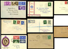 GB EARLY FIRST DAY COVERS 1934-1953