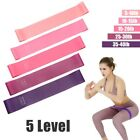Resistance Band Loop  Legs Exercise Workout CrossFit Fitness Yoga Booty Bands image