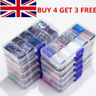 10 Rolls/Box Butterfly Marble White Lace Nail Foils Stickers Nail Art Decoration