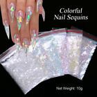 Nail Art Colorful Flakes Holographicss Irregluar Nail Glitter Sequins Decoration