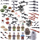 WW2 WWII ARMY Weapons, Guns Helmets & Gear compatible for LEGO FIGURES UK STOCK
