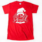 Christmas Squad T-shirt Funny Christmas Cute Family Santa Elf Tee Shirt