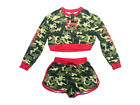 Coca Cola Women's Shorts Sweater Set Camo Coke Licensed Size Medium New $15.99  on eBay