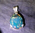 Kyпить Dominican Natural Sky Blue Clear Amber .925 Sterling Silver Pendant на еВаy.соm