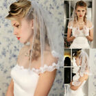Short Wedding Veils Bride Accessories White Ivory Bridal Bride Shoulder Length