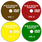 Dub & Reggae Samples, loops + patches 17+GB on 4 DVDS