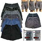 Kyпить Men Knocker Boxer Trunk 3 6 12 Pack Lot Plaid Shorts Checkered Underwear Briefs  на еВаy.соm