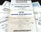 U-PICK Vintage 1980's Star Trek Blueprints & SAVE up to 20%!! K'Tara  K-7  1701D on eBay