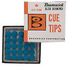 Table Games Brunswick Snooker & Pool Cue Tip Head Glue On Replacement Tips Box £62.99 GBP on eBay