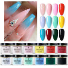 BORN PRETTY 30ml Dipping Powder 3S Fast Dry Solid Color Dip System Nail Art DIY