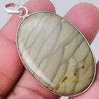 Willow Creek Jasper 925 Sterling Silver Handmade Pendant Jewelry SDP15088