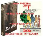 "DR. NO 1958 1st Ed. JAMES BOND 007 =BOOK & 1962 MOVIE POSTER 10 Sizes 14""-4.5 FT $62.88 CAD on eBay"