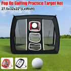 Golf Chipping Net Outdoor Practice Net Driving Chipping Cage Training Aid Net