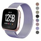Milanese Magnetic Loop Strap Stainless Steel Wrist Band For Fitbit Versa / Lite image