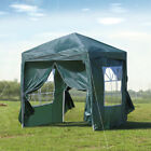2X2m 3X3m Pop-up Gazebo Waterproof Marquee Canopy Outdoor Garden Tent CLIPOP