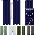 Kyпить 2 Panels Grommet Thermal Insulated Blackout Curtains Drapes Living Room на еВаy.соm