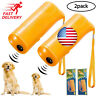 Pawow Handheld Dog Repellent Trainer,3 in Anti Barking Device with LED Flashligh