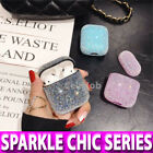 Glitter BLING Airpods 1/2/Pro Case Shockproof Hard Protective Earphones Cover