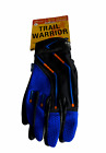 Spenco Trail Warrior Cycling Gloves Patented Technology Blue/Orange/Black NEW