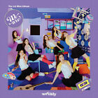 WEEEKLY [WE ARE] 1st Mini Album CD+POSTER+Photo Book+2 Card+Sticker K-POP SEALED
