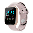 Bakeey I5 Continuous Heart Rate SpO2 Monitor Weather Display Full Metal Body