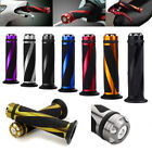"""UNIVERSAL MOTORCYCLE RUBBER GEL HAND GRIPS FOR 7/8"""" HANDLEBAR SPORTS BIKES US"""