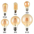 Antique Style Edison Vintage LED Light Bulbs Industrial Retro Lamps B22 or...