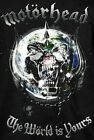 Motorhead T-Shirt The World is Yours metal hard rock Official S M NWT image