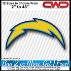 "Los Angeles Chargers Licensed Decal (12 Sizes 2"" - 48"") Car Truck Trailer 700302 $3.99 USD on eBay"