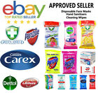 Dettol Green Shield Carex Parozone Cleaning, Anti Bacterial & Anti Viral Wipes