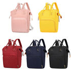 Pure Color Mommy Travel Backpacks Big Nylon Maternity Nappy Top-handle Bags 20
