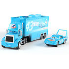 Disney Pixar Cars No.43 Dinoco Hauler Truck with King 1:55 Diecast Toys Car New