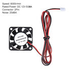 1Pcs 40 * 40 * 10mm DC 12V Brushless Cooler Cooling Fan 2 Wire for 3D W3K9