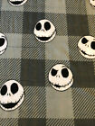 Nightmare Before Christmas Disney BLANKET FLEECE Fabric by Yard or 1/2 Yard