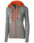 222743 Holloway Ladies' Sof-Tec Primo Dry-Excel Force Warm-Up Full-Zip Jacket