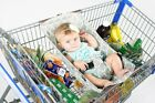 Baby hammock Creative multipurpose supermarket shopping cart Baby safety hammock