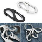 8 Shape Carabiner Keychain Portable Outdoor Hook Clasp Quality High B2l1